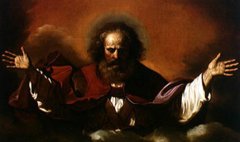 The Eternal Father | Guercino | oil painting