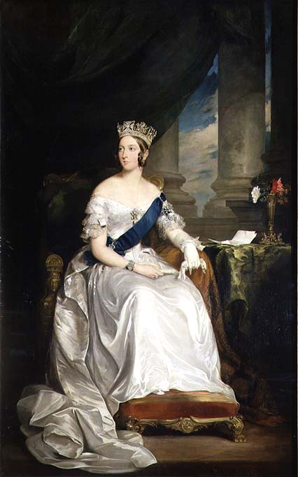 Queen Victoria 1843 | Sir Francis Grant | oil painting