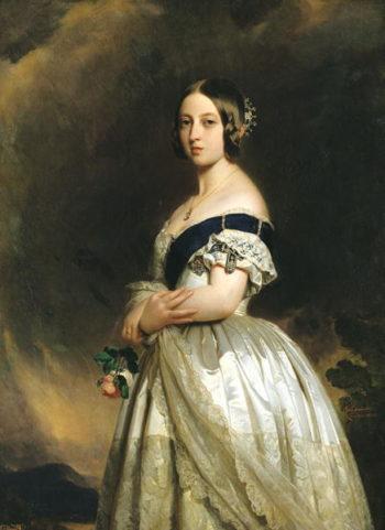 Queen Victoria   Franz Xavier Winterhalter   oil painting