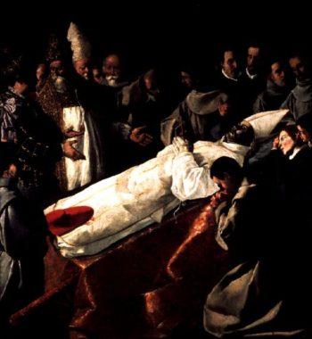 The Exhibition of the Body of St Bonaventure | Francisco de Zurbaran | oil painting