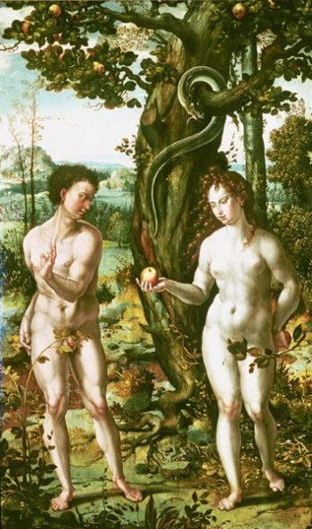 The Fall of Man | Pieter Coecke van Aelst | oil painting