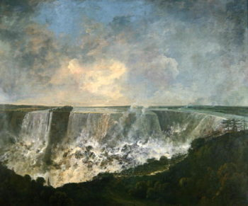 The Falls of Niagara 1770 80 | Richard Wilson | oil painting