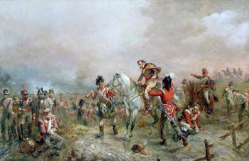 The Field at Waterloo | Robert Alexander Hillingford | oil painting