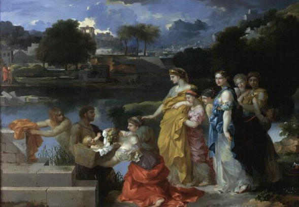The Finding of Moses 1650 | Sebastien Bourdon | oil painting