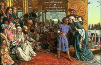 The Finding of the Saviour in the Temple 1862 | William Holman Hunt | oil painting