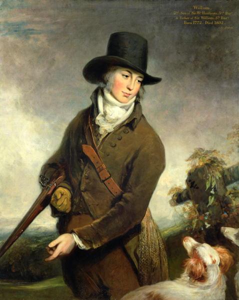 Reverend William Heathcote | William Owen | oil painting