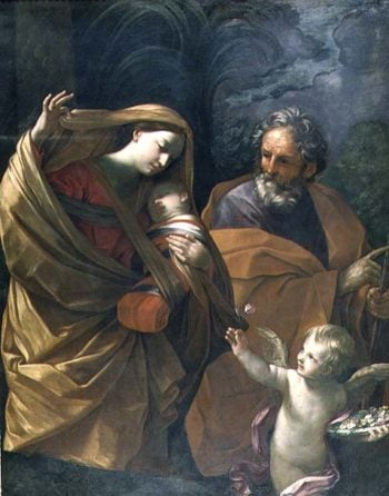 The Flight into Egypt | Guido Reni | oil painting