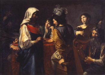 The Fortune Teller | Valentin de Boulogne | oil painting
