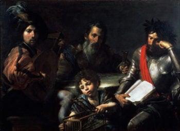 The Four Ages of Man 1626 7 | Valentin de Boulogne | oil painting