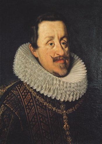 Portrait of Ferdinand II | Justus Sustermans | oil painting