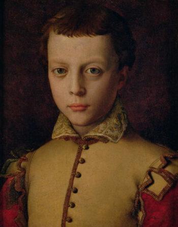 Portrait of Ferdinando de' Medici | Agnolo Bronzino | oil painting