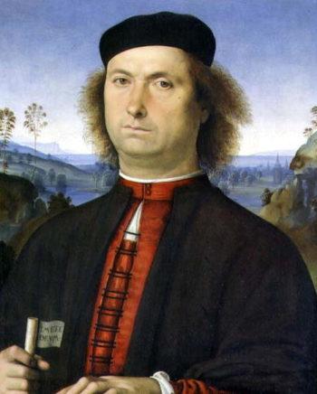 Portrait of Francesco delle Opere 1494 | Pietro Perugino | oil painting