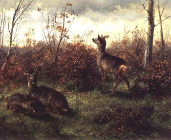 Roe Deer | Rosa Bonheur | oil painting