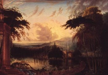 Romantic Landscape | Samuel Colman | oil painting