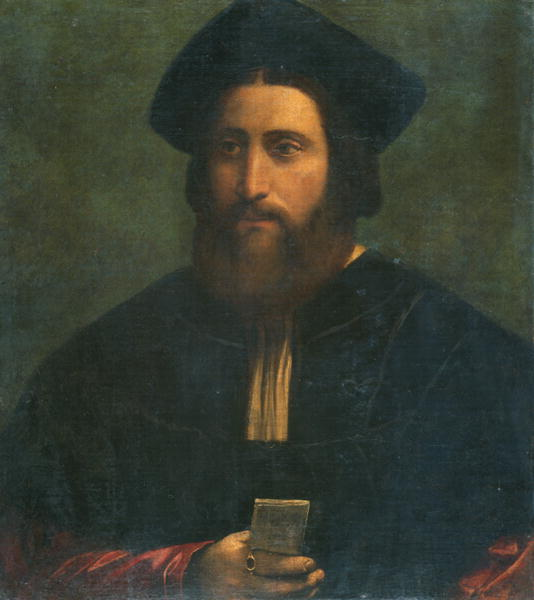 Portrait of Girolamo Beltrando | Dosso Dossi | oil painting