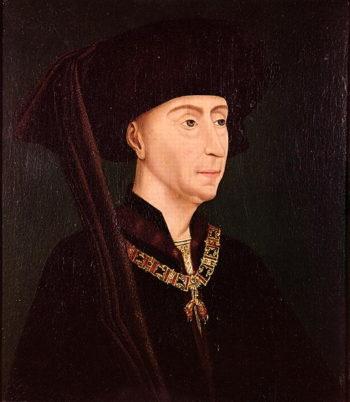 Portrait of Philippe III | Rogier van der Weyden | oil painting