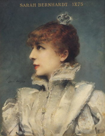 Sarah Bernhardt | Louise Abbema | oil painting