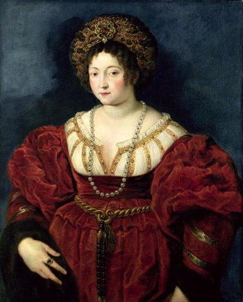 Posthumous portrait of Isabella d'Este Marchioness of Mantua | Peter Paul Rubens | oil painting