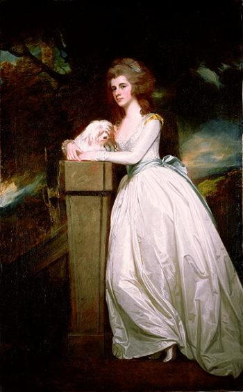 Sarah Rodbard | George Romney | oil painting