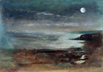 Scarborough   John William Inchbold   oil painting