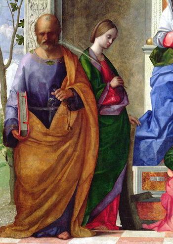 San Zaccaria Altarpiece 1505 | Giovanni Bellini | oil painting