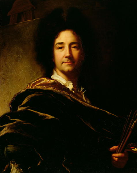 Self Portrait 1716 | Hyacinthe Rigaud | oil painting
