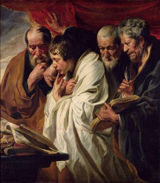 The Four Evangelists | Jacob Jordaens | oil painting