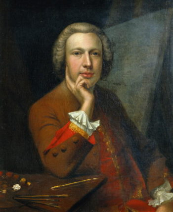 Self Portrait 1742 | Arthur Devis | oil painting