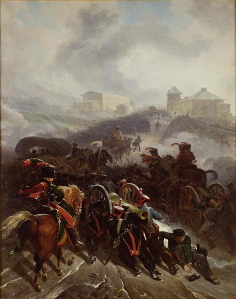 The French Army Crossing the Sierra de Guadarrama Spain December 1812 | Nicolas Antoine Taunay | oil painting