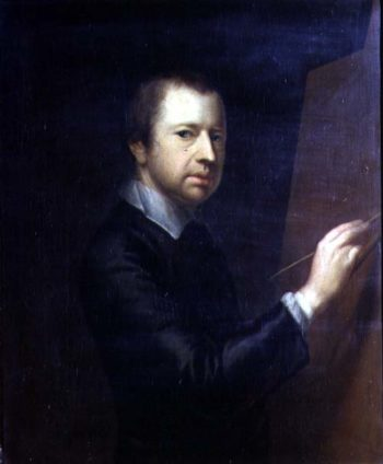 Self Portrait 1754 | Arthur Devis | oil painting
