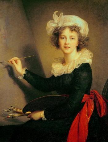 Self Portrait 1790   Elisabeth Louise Vigee Lebrun   oil painting
