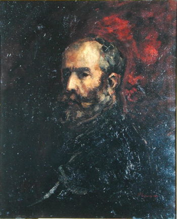 Self Portrait as Henri IV 1870 | Jean Baptiste Carpeaux | oil painting