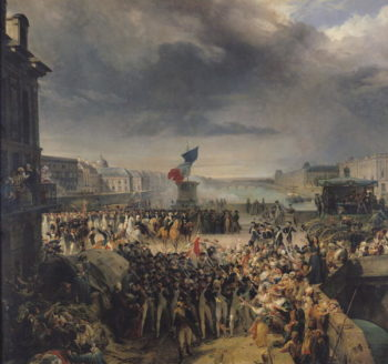 The Garde Nationale de Paris Leaves to Join the Army in September 1792 1833 36 | Leon Cogniet | oil painting
