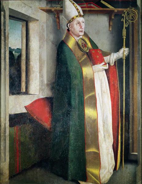 St Augustine   Konrad Witz   oil painting
