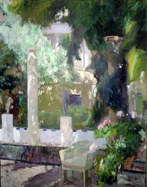The Gardens at the Sorolla Family House 1920 | Joaquin Sorolla y Bastida | oil painting
