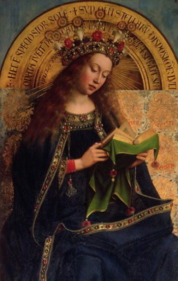 The Ghent Altarpiece The Virgin Mary 1432 | Hubert Eyck | oil painting