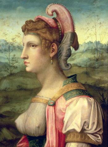 Sibyl 1540   Francesco Ubertini Verdi Bachiacca   oil painting
