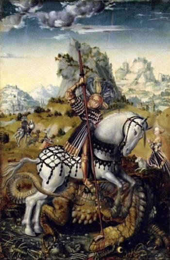 St George | Lucas the Elder Cranach | oil painting