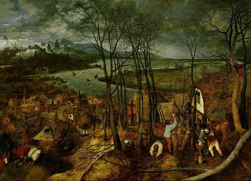 The Gloomy Day Spring 1559 | Pieter the Elder Brueghel | oil painting