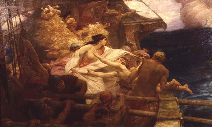 The Golden Fleece 1904 | Herbert James Draper | oil painting