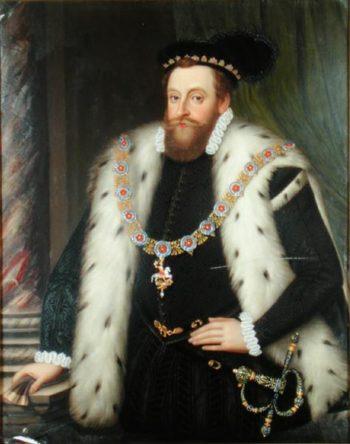 Sir Henry Sidney | Henry Bone | oil painting