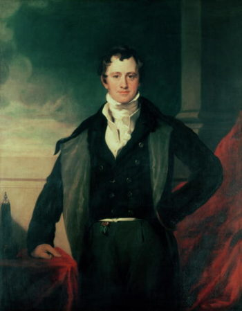 Sir Humphry Davy | Sir Thomas Lawrence | oil painting