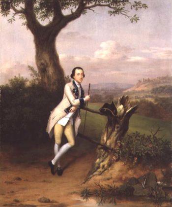 Sir John Van Hatten 1753 | Arthur Devis | oil painting