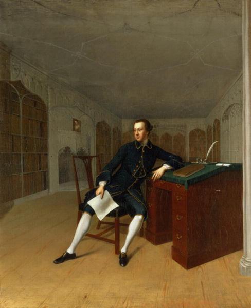 Sir Roger Newdigate | Arthur Devis | oil painting