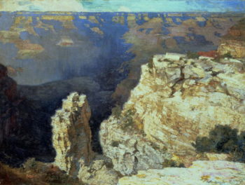 The Grand Canyon   Edward Henry Potthast   oil painting