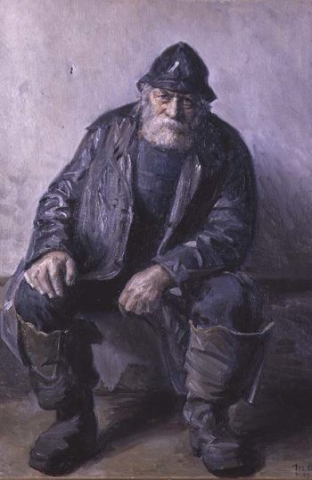 Skagen Fisherman | Michael Peter Ancher | oil painting