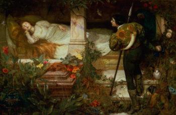 Sleeping Beauty | Edward Frederick Brewtnall | oil painting