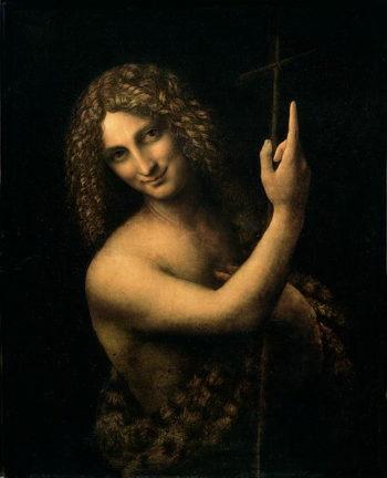 St John the Baptist 1513 16 | Leonardo da Vinci | oil painting