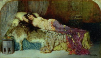 Sleeping Beauty | William A Breakspeare | oil painting