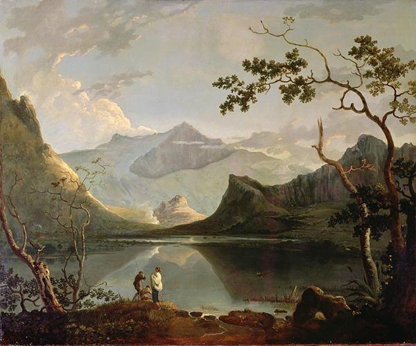 Snowdon | Richard Wilson | oil painting